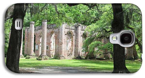 Welcome To Sheldon Church Ruins Galaxy S4 Case by Carol Groenen