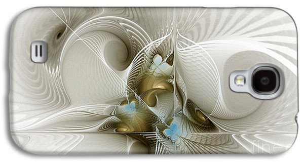 Welcome To The Second Floor-fractal Art Galaxy S4 Case by Karin Kuhlmann