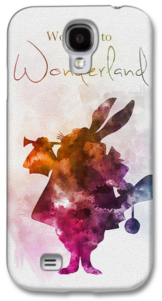 Welcome To Wonderland Galaxy S4 Case by Rebecca Jenkins
