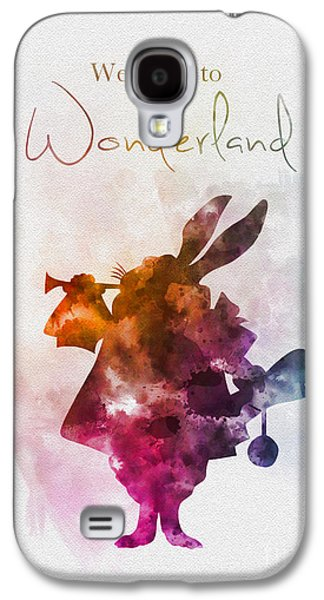 Welcome To Wonderland Galaxy S4 Case