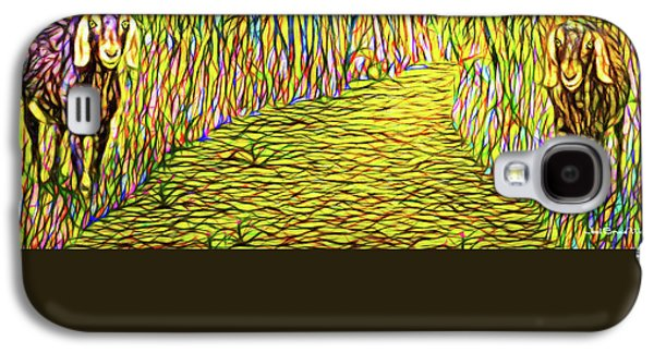 Welcoming Goats Galaxy S4 Case by Joel Bruce Wallach