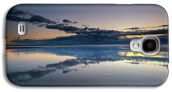 Wells Beach Reflections Galaxy S4 Case