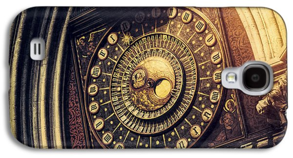 Wells Cathedral Astronomical Clock  Galaxy S4 Case by Tim Gainey
