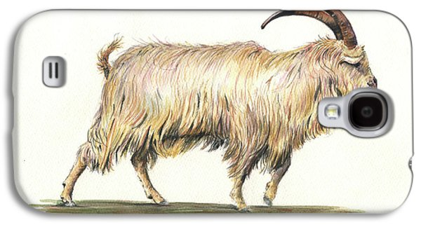 Welsh Long Hair Mountain Goat Galaxy S4 Case