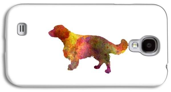 Welsh Springer Spaniel In Watercolor Galaxy S4 Case by Pablo Romero