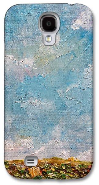 West Field Seedlings Galaxy S4 Case by Judith Rhue
