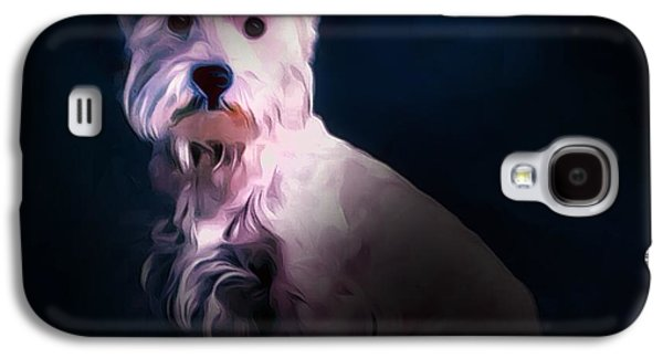 West Highland White Terrier Galaxy S4 Case by Scott Wallace