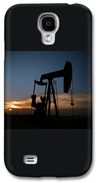 West Texas Sunset Galaxy S4 Case by Melany Sarafis