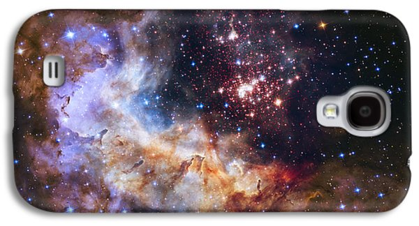 Westerlund 2 - Hubble 25th Anniversary Image Galaxy S4 Case