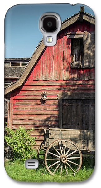 Western Barn Galaxy S4 Case by Carlos Caetano