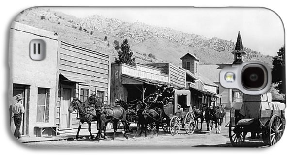Western Film Still Galaxy S4 Case by Underwood Archives