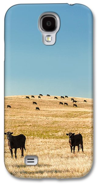 Western Herd Of Cattle Galaxy S4 Case by Todd Klassy