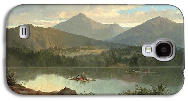 Mountain Galaxy S4 Case - Western Landscape by John Mix Stanley