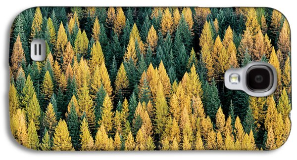 Western Larch Forest Galaxy S4 Case by Leland D Howard