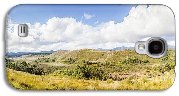 Western Tasmania Panorama Galaxy S4 Case by Jorgo Photography - Wall Art Gallery