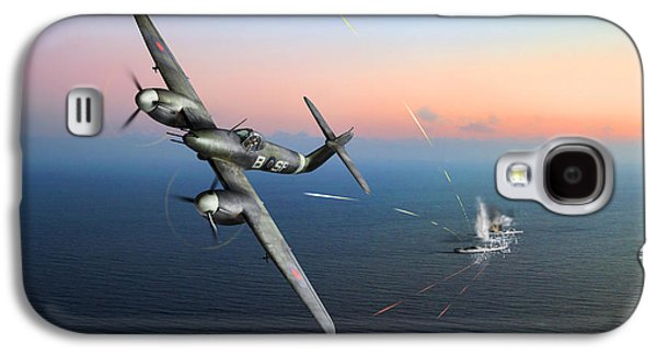 Galaxy S4 Case featuring the photograph Westland Whirlwind Attacking E-boats by Gary Eason