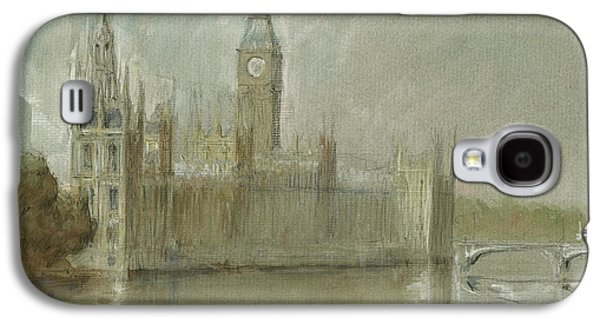 Westminster Palace And Big Ben London Galaxy S4 Case