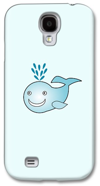 Whale - Animals - Art For Kids Galaxy S4 Case
