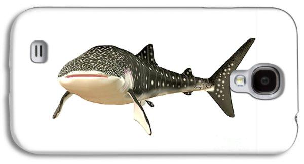 Whale Shark Profile Galaxy S4 Case