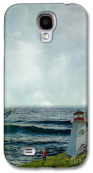 Whale Watch Galaxy S4 Case