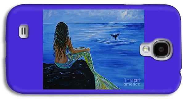 Whale Watcher Galaxy S4 Case