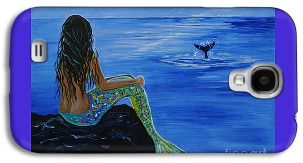 Whale Watcher Galaxy S4 Case by Leslie Allen