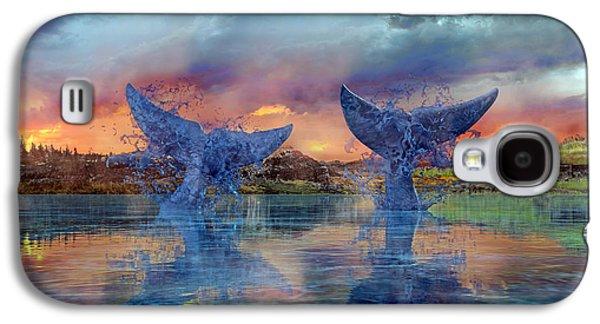 Whales II Galaxy S4 Case