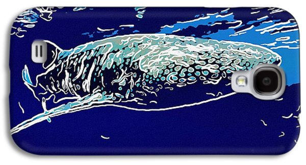 Whaleshark  Galaxy S4 Case by Lanjee Chee