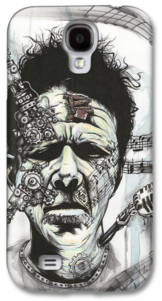 What's He Building In There? Galaxy S4 Case by Tai Taeoalii