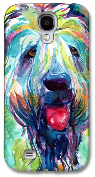Wheaten Terrier Dog Portrait Galaxy S4 Case by Svetlana Novikova