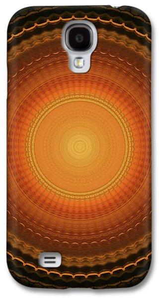 Wheel Kaleidoscope Galaxy S4 Case by Wim Lanclus
