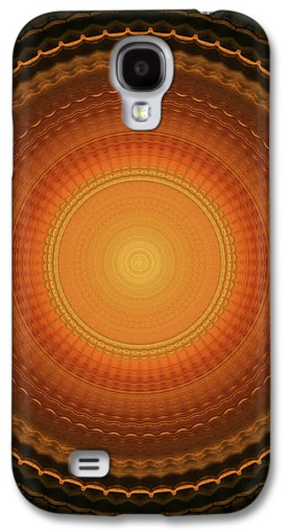 Wheel Kaleidoscope Galaxy S4 Case by Wim Lanclus