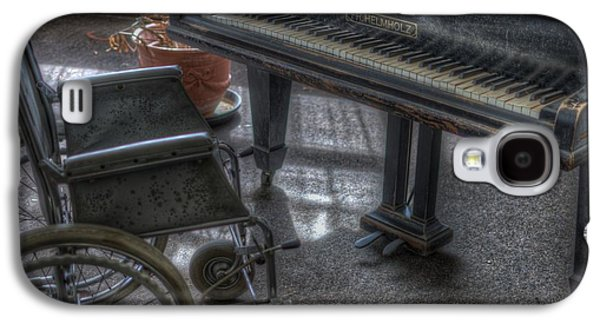 Wheel Piano Galaxy S4 Case by Nathan Wright
