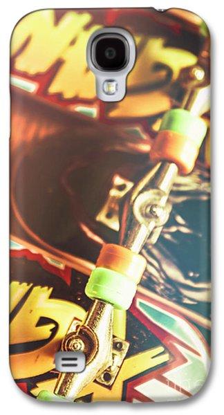 Wheels Trucks And Skate Decks Galaxy S4 Case by Jorgo Photography - Wall Art Gallery