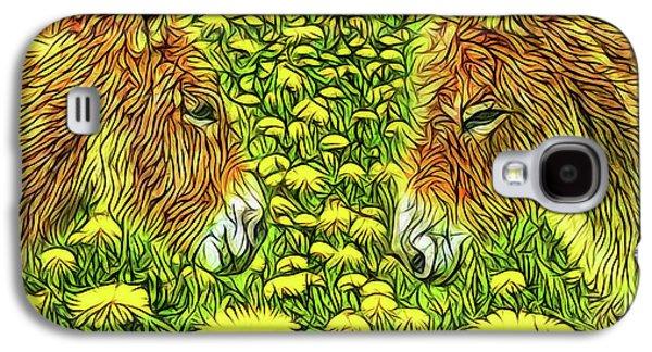 When Donkeys Speak Galaxy S4 Case