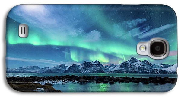When The Moon Shines Galaxy S4 Case by Tor-Ivar Naess