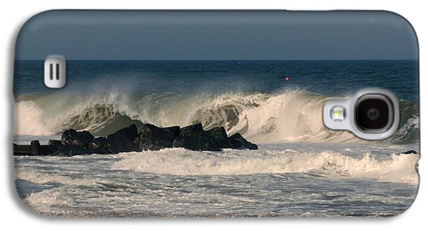 When The Ocean Speaks - Jersey Shore Galaxy S4 Case by Angie Tirado