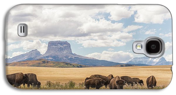 Where The Buffalo Roam Galaxy S4 Case by Alex Lapidus