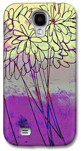 Whimsical Flower Bouquet Galaxy S4 Case by Ann Powell
