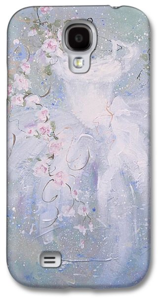 Whimsy Galaxy S4 Case by Laura Lee Zanghetti