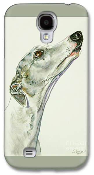 Whippet Galaxy S4 Case by Suzanne Leonard