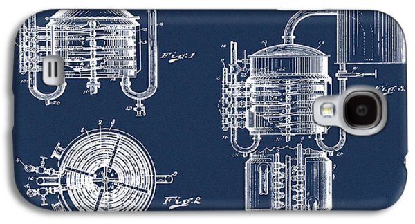 Whiskey Still 1906 In Blue  Galaxy S4 Case by Bill Cannon