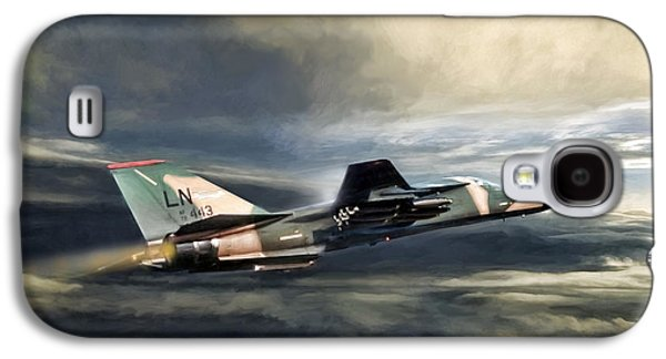 Whispering Death F-111 Galaxy S4 Case by Peter Chilelli