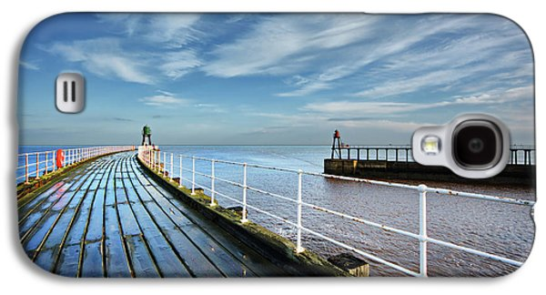 Whitby Piers Galaxy S4 Case