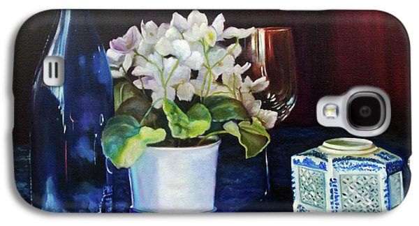 White African Violets Galaxy S4 Case by Marlene Book