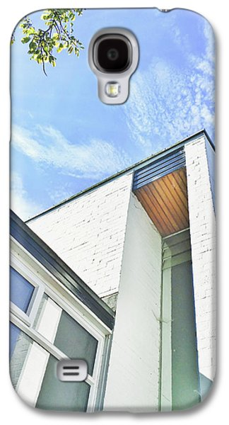 White Brick Building Galaxy S4 Case