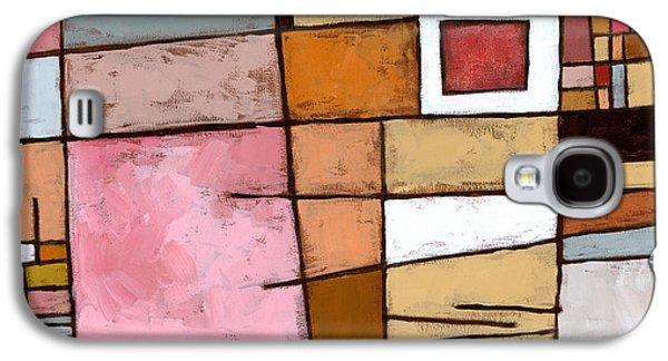 Abstract Galaxy S4 Case - White Chocolate by Douglas Simonson