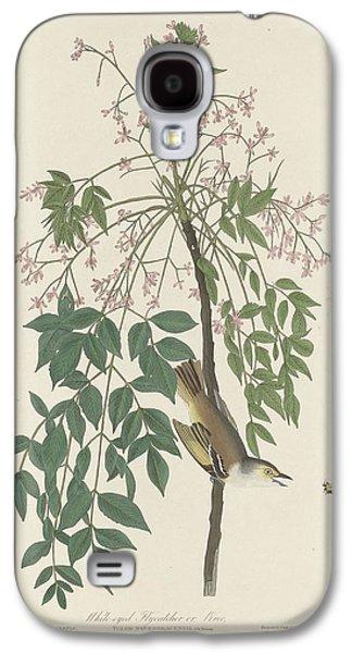 Flycatcher Galaxy S4 Case - White-eyed Flycatcher by Dreyer Wildlife Print Collections