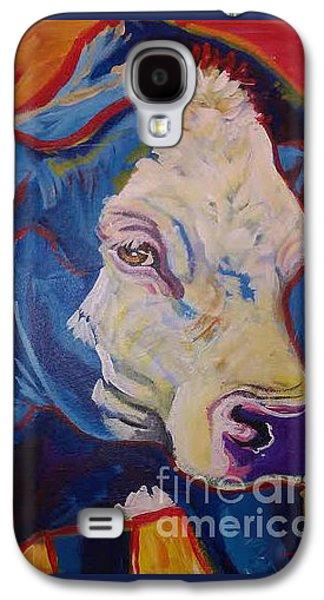 White Face Cow Galaxy S4 Case