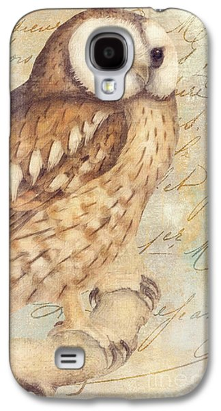 White Faced Owl Galaxy S4 Case by Mindy Sommers